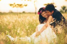 The Color Engagement: Samuel and Jessica's Pre-Wedding Shoot