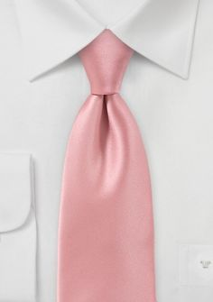 Businesskrawatte italienische Mikrofaser rosé