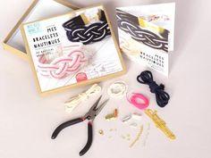KIT MKMI - Mes bracelets nautiques - mes kits make it - DIY