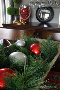 Christmas 2014 Home Tour - Life On Virginia Street - Dining Room Details 2