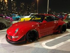 RWB at Tarumi parking Rauh Welt, Cars Motorcycles, Porsche, Japan, Park, My Style, Vehicles, You Are Special, Modified Cars