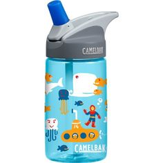 Camelbak Products Kid's Eddy Water Bottle, Sea, 0.4-Liter CamelBak http://www.amazon.com/dp/B00G46CJ08/ref=cm_sw_r_pi_dp_6AMvub0XTQ9QA