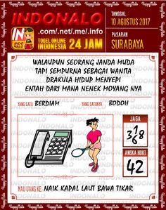 Bolak Balik 5D Togel Wap Online Indonalo Surabaya 10 Agustus 2017