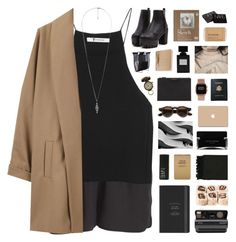 """""""Lisboa"""" by nanarachel ❤ liked on Polyvore featuring Pieces, T By Alexander Wang, Surface To Air, Forever 21, Royce Leather, Polaroid, Narciso Rodriguez, Surya, Le Labo and NARS Cosmetics"""