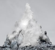 Tectonic, Lightjet Print, 168 x 185 cm, 2015 © Noemie Goudal British Journal Of Photography, Photography Tips, Experimental Photography, London Photos, Nature Images, Artsy, Clouds, Gallery, Artwork