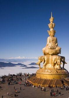 Горы Эмэйшань в Китае - Путешествуем вместе
