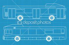 MAN NL202 - High detailed bus illustration