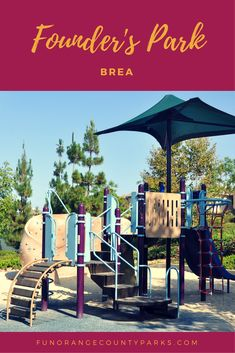 Founder's Park in Brea: Sandy Play Table Gets All the Attention