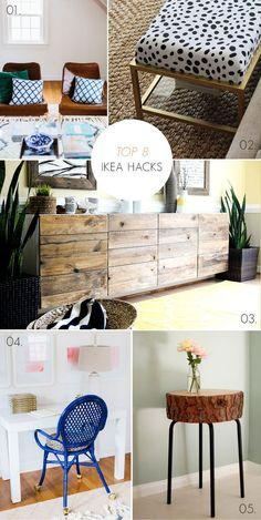 top 8 gorgeous ikea furniture hack ideas