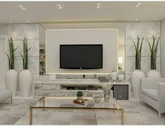 Trendy Home Family Decor Fireplaces Ideas Grey Furniture, Furniture Design, Painel Tv Sala Grande, Room Interior, Interior Design, Living Room Tv Unit Designs, Tv Wall Design, 3d Design, Tv Wall Decor