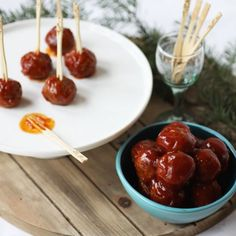 Boozy, tangy and sweet these meatballs should be on your holiday party menu!