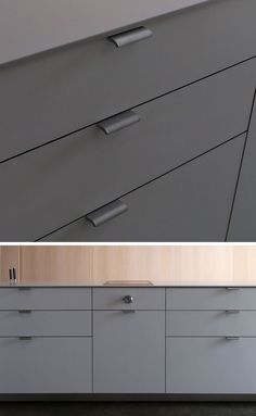 8 Kitchen Cabinet Hardware Ideas For Your Home is part of Modern cabinet Hardware - Kitchen hardware comes in a wide range of styles, here are 8 different styles of modern kitchen cabinet hardware that would suite any kitchen Kitchen Cupboard Handles, Kitchen Cabinet Hardware, Modern Kitchen Cabinets, Kitchen Cabinet Handles, Kitchen Cabinet Design, Kitchen Furniture, Kitchen Decor, Cabinet Knobs, Kitchen Ideas
