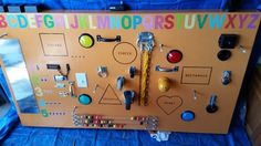 This DIY Dad Crafts A Weird Board For His 1-Year-Old. When He Turns It Around? The CUTEST!