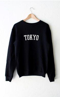 Tokyo Sweater - Black