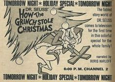 Throwback Thursdays: How The Grinch Stole Christmas