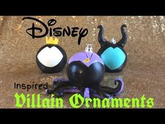 Disney christmas crafts DIY Disney Christmas Ornaments - Revamp Your Greenback Tree Ornaments - YouT Disney Christmas Crafts, Disney Christmas Decorations, Mickey Christmas, Disney Crafts, Christmas Tree Ornaments, Ornaments Ideas, Xmas Trees, Ornament Crafts, Disney Diy