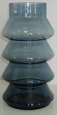 Retro glass vase, probably Swedish