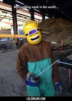 Best Welding Mask In The World...#funny #lol #lolzonline