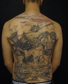 Possibly the finest WW2 related tattoo I have ever seen...