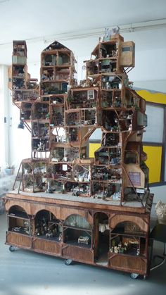 The Mouse Mansion - I really like the idea of creating your own miniature world independent of pre-made kits.