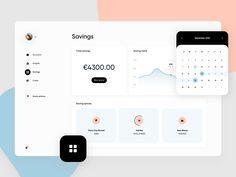 Web Banking app - Savings by Martin Ehrlich