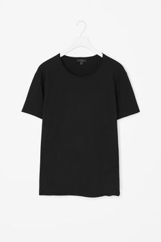 Rolled edge t-shirt