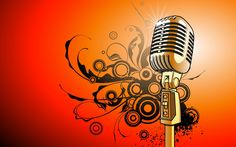 wallpaper abstract art music colorfull mic