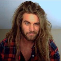 """""""Man Bun Monday and No Shave November  Week ✌️ Have a Great Monday everyone!"""" Brock O'Hurn"""