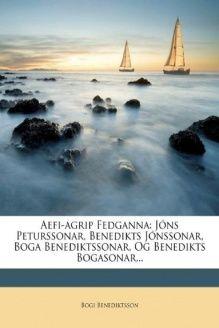 Aefi-agrip Fedganna  J, 978-1247605241, Bogi Benediktsson, Nabu Press
