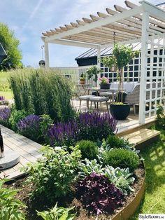 Back Gardens, Outdoor Gardens, Terrace Roof, Dream Garden, Home And Garden, Garden Beds, Design Home App, Design Design, Design Ideas