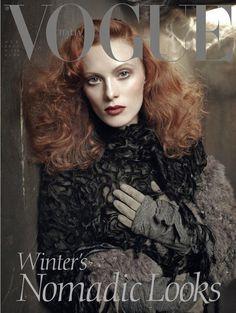 Vogue Italia - Vogue Italia October 2011 Cover