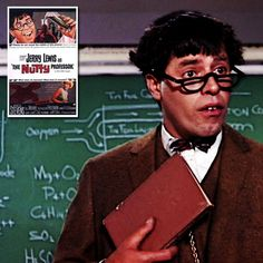 """""""Well, just don't do something, sit there! """"The Nutty Professor (1963). To improve his social life, a nerdish professor drinks a potion that temporarily turns him into the handsome, but obnoxious, Buddy Love. Director, writer: Jerry Lewis. Stars: Jerry Lewis, Stella Stevens, Del Moore, Kathleen Freeman, Med Flory, Norman Alden, Howard Morris, Elvia Allman, Milton Frome, Buddy Lester, Marvin Kaplan."""