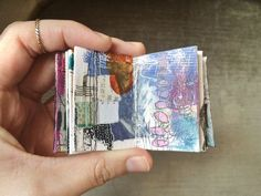 mini journal 01 // by bun - artist: roxanne coble