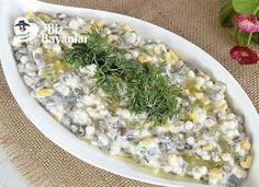 Yoğurtlu Mercimek Salatası Bizbayanlar.com #Biber, #Dereotu, #KuskusMakarnası, #Mısır, #Sarımsak, #YeşilMercimek, #Yogurt,#SalataTarifleri http://bizbayanlar.com/yemek-tarifleri/salata-meze-kanepe/salata-tarifleri/yogurtlu-mercimek-salatasi/