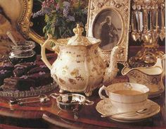 the tea set