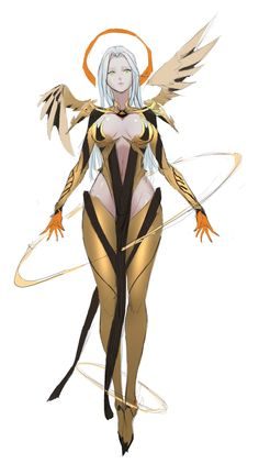 ArtStation - AE, bamuth Lai - Jardin Tutorial and Ideas Fantasy Character Design, Character Design Inspiration, Character Concept, Character Art, Anime Fantasy, Fantasy Girl, Fantasy Characters, Female Characters, Accel World