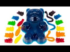 How to Make a Giant Gummy Bear and other Gummy Candy from Cookies Cupcakes and Cardio - YouTube