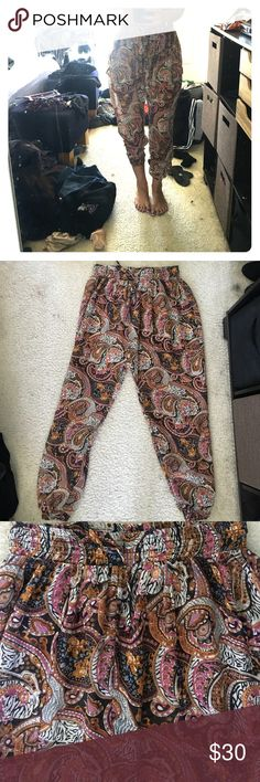Urban Outfitters Genie Pants - Sheer Stretch Sz  M Urban Outfitters - Genie…