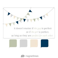 Sage, Silver, Champagne, and Navy Wedding Color Palette - free custom artwork created at MagnetStreet.com
