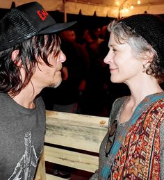 Norman Reedus and Melissa McBride at House of Vans @ SXSW, 18 March 2015 by QRO