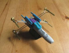 the things people do to avoid work.....http://www.stumbleupon.com/su/1aTbOp/www.instructables.com/image/FVFH9EGGNBEVD8I/X-Wing-Fighter-from-Office-Supplies.jpg/