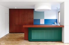 Dries Otten's Colorful Kitchens Evoke Abstract Canvases