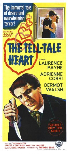 The Tell-Tale Heart (1960) | Cinema Scream