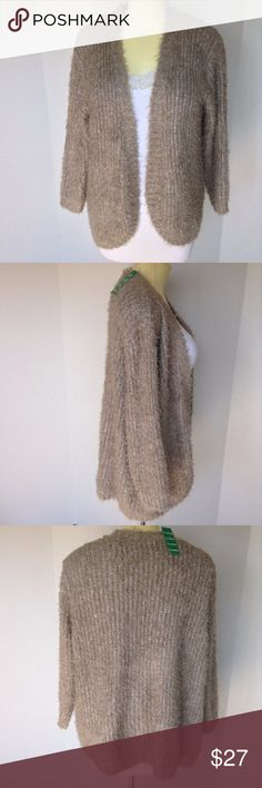 plus size NWOT SOOO SOFT KENSIE CARDIGAN Warm and cozy in this open front cardigan Kensie Sweaters Cardigans