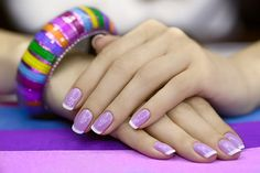 50 Amazing Nail Art Designs For Beginners – With Styling Tips I love this color of purple