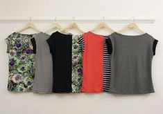 easy t-shirt sewing pattern