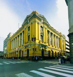 Escuela Nacional de Bellas Artes, Lima, Peru by Martintoy, via Flickr