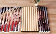 The Best Crafts from Pinterest: Photo With a Secret different angles see different pictures