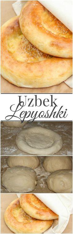 Uzbek Lepyoshki. ValentinasCorner.com