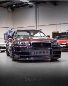 R34 Gtr, Nissan Gtr Skyline, My Dream Car, Dream Cars, Japanese Domestic Market, Mitsubishi Lancer Evolution, Nice Cars, Jdm Cars, Custom Trucks
